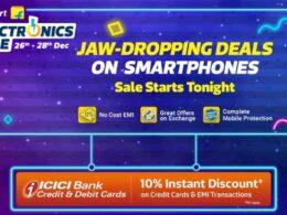 flipkart offers on electronics