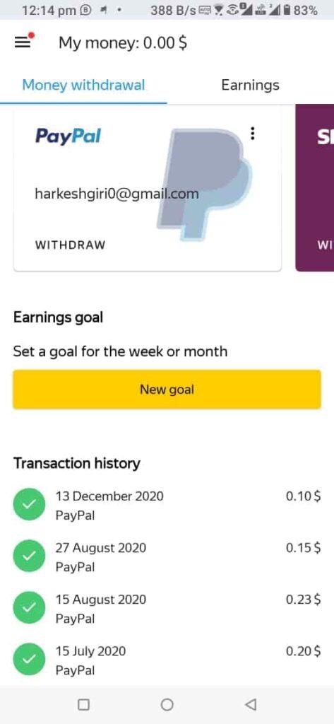 paypal earning app in 2021
