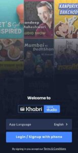 khabri-app-account