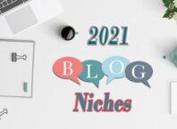 best niche for blogging in 2021