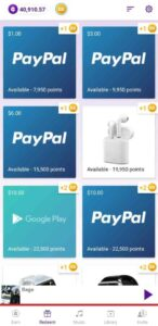 how to earn in current app?