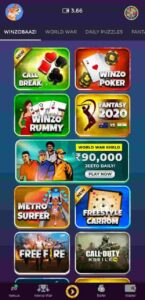 winzo gold app games