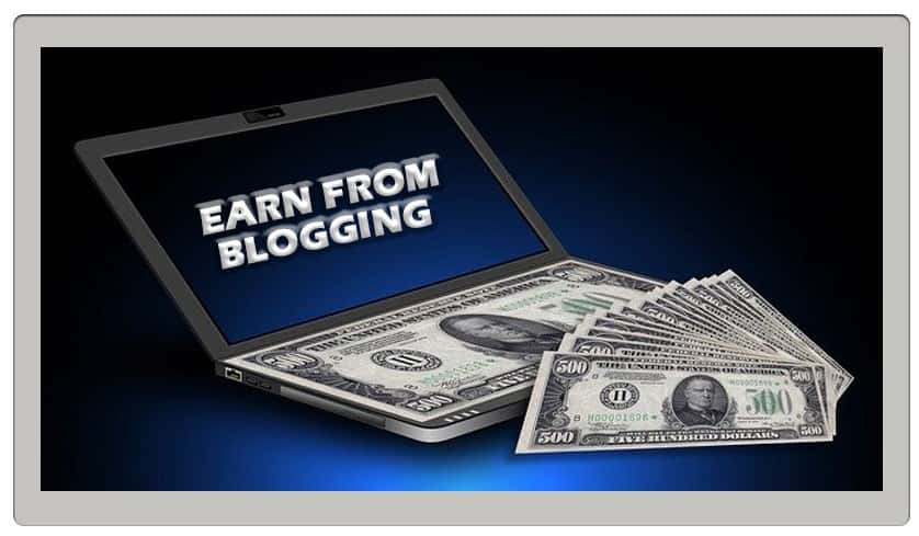 earn from blogging