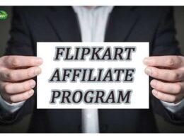 how to earn from flipkart affiliate program?